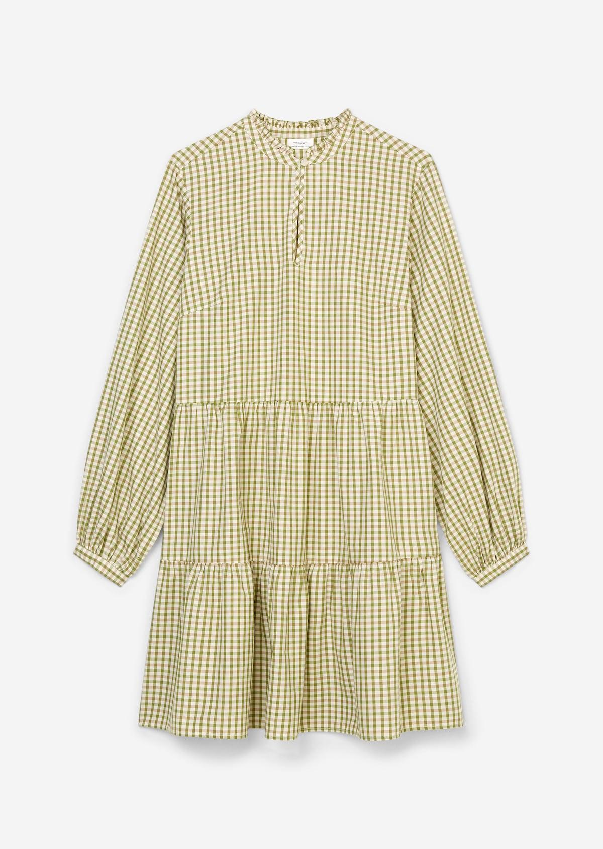 Maxomorra dress LS Robe Rabbit Bio Coton GOTS Lapin Pâques